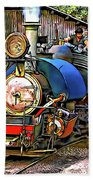 Darjeeling Toy Train Beach Towel