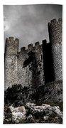 Dark Castle Beach Towel by Carlos Caetano