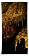 Dark Cave Beach Towel