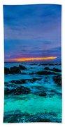 Night Glow Beach Towel