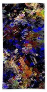 Dark Night Beach Towel