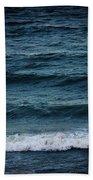 Dark Sea Beach Towel