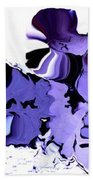 Dark Turbulence Beach Towel