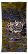 Dark Water Predator Beach Towel