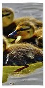 Darling Ducks Beach Towel