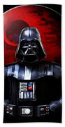 Darth Vader And Death Star Beach Towel