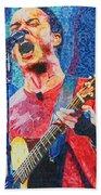 Dave Matthews Squared Beach Towel