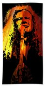 Dave Mustaine Beach Towel