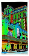 Davenport Hotel Downtown Spokane Beach Towel