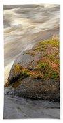 Dave's Falls #7442 Beach Towel