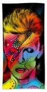David Bowie Beach Sheet