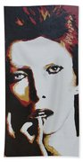 David Bowie Beach Towel