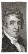 David Humphreys,1752 To 1818 Beach Towel