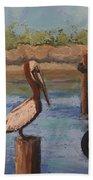 Davis Bayou Beach Towel