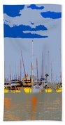 Davis Island Yachts Beach Towel