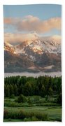 Dawn At Grand Teton National Park Beach Towel