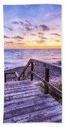 Dawn Colors Beach Towel