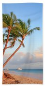 Dawn In Punta Cana Beach Towel