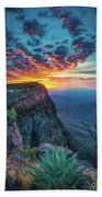 Dawn In The Chisos Beach Towel