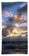 Dawn Of A New Day Treasure Coast Florida Seascape Sunrise 138 Beach Towel