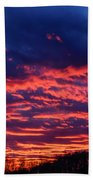 Dawn On The Farm Beach Towel