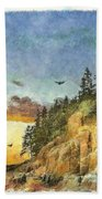 Day Is Done 2015 Beach Towel