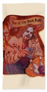 Day Of The Dead Dude Beach Towel