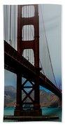 Daybreak At The Golden Gate Beach Towel