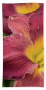 Daylily 2 Beach Towel