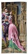 De Soto & Isabella, 1539 Beach Towel