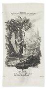 De Wereld, Jeremias Wachsmuth, After Gottfried Eichler II, C. 1758 - C. 1760 Beach Sheet