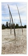 Dead Trees, Yellowstone Beach Towel