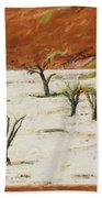 Dead Vlei Namibia Beach Towel