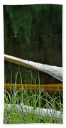 Deadwood And Pine Reflections Beach Towel