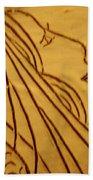Dear - Tile Beach Towel