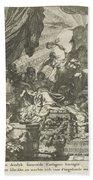 Death Of Dido, Gerard De Lairesse, 1668 Beach Towel