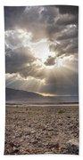 Death Valley Sun Burst Beach Towel