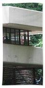 Deck View Fallingwater  Beach Towel