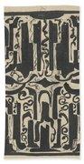 Decorative Design, Carel Adolph Lion Cachet, 1874 - 1945 H Beach Towel