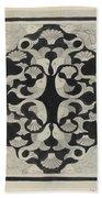 Decorative Design With Fish, Carel Adolph Lion Cachet, 1942 Beach Sheet