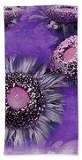 Decorative Sunflowers A872016 Beach Towel
