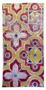 Decorative Tiles Islamic Motif  Beach Towel