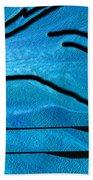 Deep Blue Beach Towel by Ben and Raisa Gertsberg
