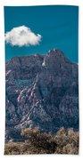 Deep Blue Sky Canyon Beach Towel