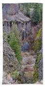 Deep Creek Gorge Beach Towel