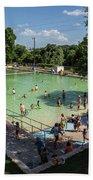 Deep Eddy Pool Is A Family Friendly, Family Fun, Public Swimming Pool In Austin, Texas Beach Towel