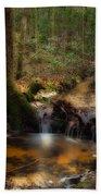 Deep Forest Creek Beach Towel