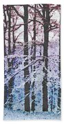 Deep Freeze Beach Towel