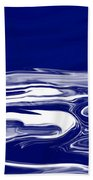 Deep In Blue Beach Towel