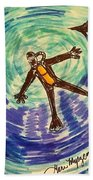 Deep Sea Diving  Beach Towel